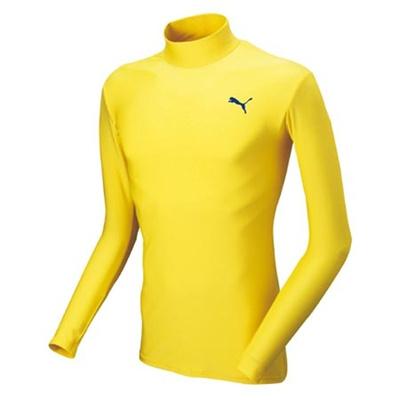 プーマ(PUMA) コンプレッション JR モックネック 長袖 シャツ 900531 11 【ジュニアサッカーウェア インナー トレーニング】の画像