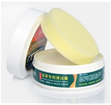 [SG] 2-in-1 (260g) Special Leather Conditioner / Cleaner with Free Sponge. Renew Remove Dirt Stains