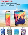 ★Luckiplus★ Elastic Luggage Cover★Many Designs★Honey Design Shop