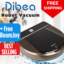 ⚡【⏰ FLASH SALE】Dibea®  D900 Rover Robot Vacuum Cleaner 🌟 Jap Motor 🌟Lithium Battery🌟More choices