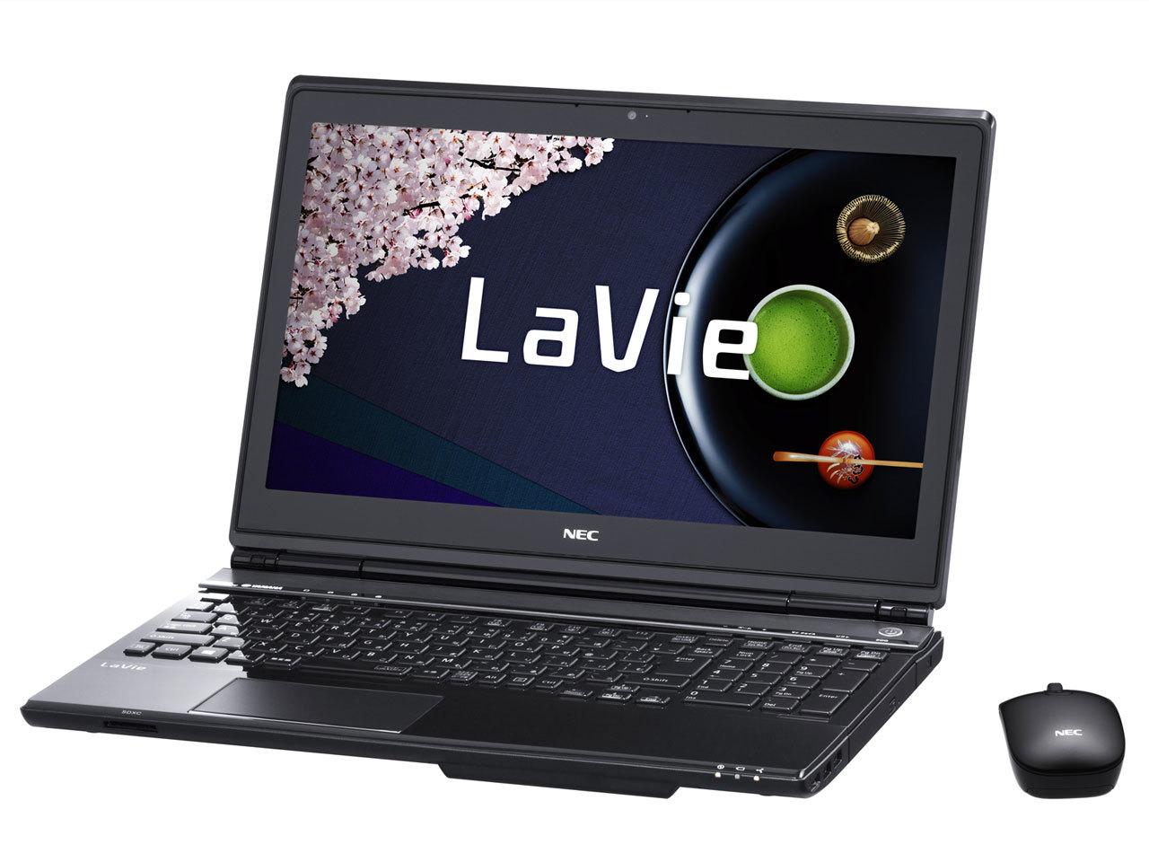 【クリックで詳細表示】送料無料※展示品※ NEC LL750RSB/Core i7/1000GB/8GB/15.6インチ/Officeなし