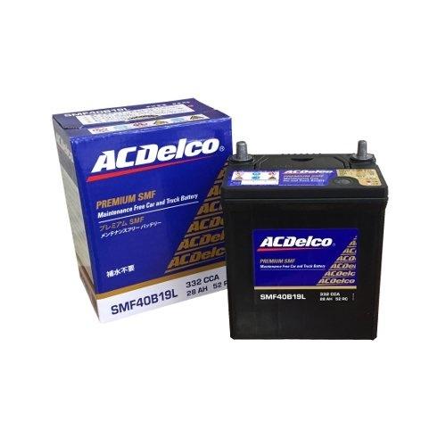 【クリックで詳細表示】ACDelco [ エーシーデルコ ] 国産車バッテリー [ Maintenance Free Battery ] SMF40B19L