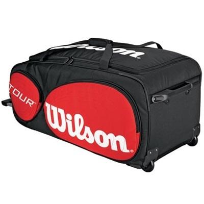 ウィルソン(Wilson) ツアー トラベラー ホイールズ R/B(TOUR TRAVELER WHEELS R/B) WRZ843294 【テニス ラケットバッグ ケース カバー】の画像