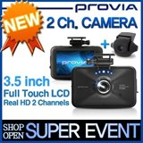 ★ PROVIA 2Channel Dual Black Box★ Touch Screen/ Free 16G SDcard - La