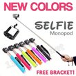 * CHEAPEST IN SINGAPORE - GUARANTEED * Selfie Monopod FREE Holder Bracket / AB Bluetooth Remote Shutter Control