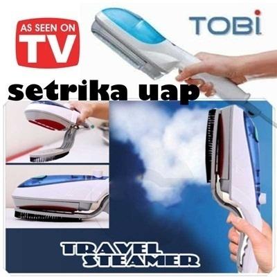 Setrika Uap Tobi as seen on tv travel steamer