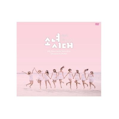 [無料配送]  小女時代 All About Girls Generation Paradise in Phuket (6dvd+44p画報+高級ハードボードボックス)