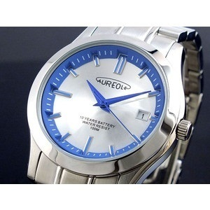 Amazon.com: AUREOLE watch Super hard alloy bezel SW-431M-5 ...