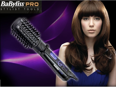 New Babyliss Big Hair Straightener 2775K Auto Hair Brush