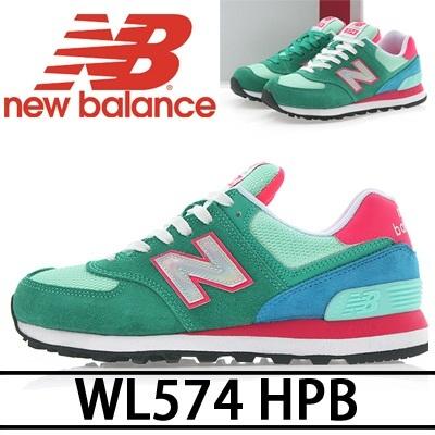 【送料無料 NEW BALANCE 574 Series】WL574 H