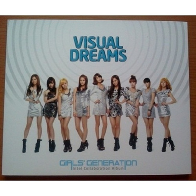 (RARE)少女時代 VISUAL DREAMS DVD(PROMOTION ONLY)