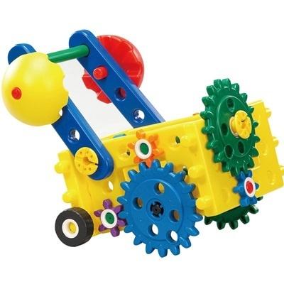 七色花幼教幼儿园益智玩具齿轮搭建拆装组合创意积木魔法箱7333简介