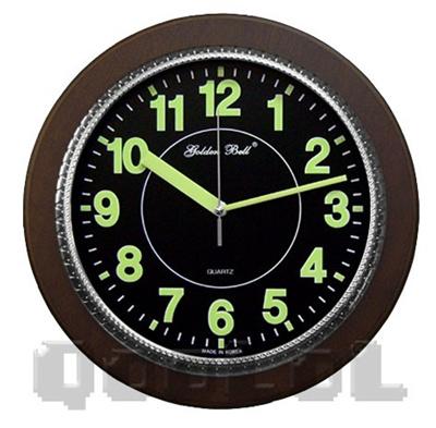 qoo10 qoolol glow in the dark wall clock free shipping