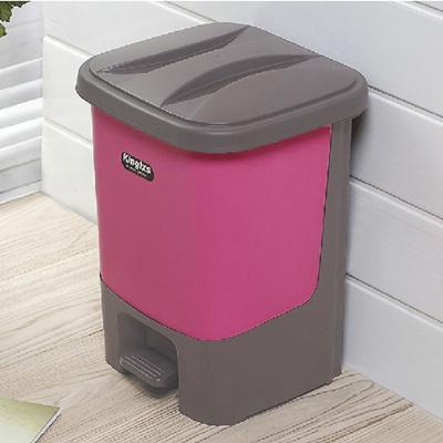 家用脚踏式垃圾桶 脚踩塑料卫生桶垃圾箱