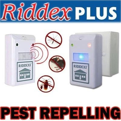 RIDDEX Pest Repeller Alat Pengusir Tikus Kecoa Nyamuk