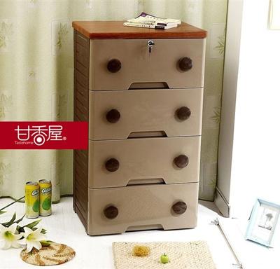 特价高档塑料抽屉式收纳柜 宝宝衣柜 木面板儿童衣服整理柜