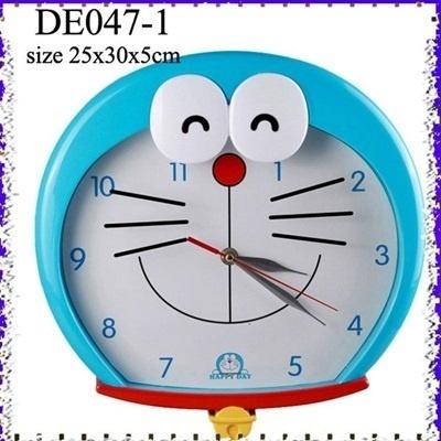 Jam Dinding Kepala Doraemon