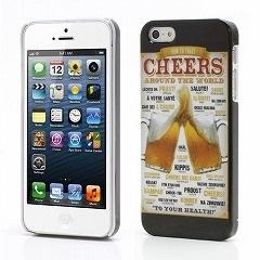 iPhone5/iPhone 5s プリントハードケース ビールC【iPhone5/iPhone5sケース:電化製品:スマートフォン:iPhoneケース】