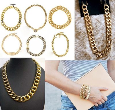 Gold Chain Necklaces_Gold Necklaces_Gold Bracelet_Gold Jewelry_HOT ITEMS_Must Have