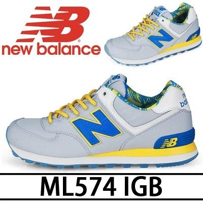 【送料無料 NEW BALANCE 574 Series】ML574 I