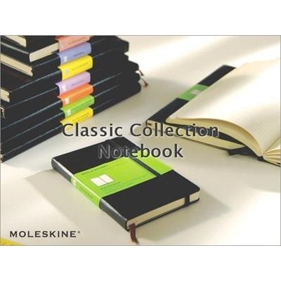 MOLESKINE/モレスキン クラシック・プレーンノートブック (L/H/BK)