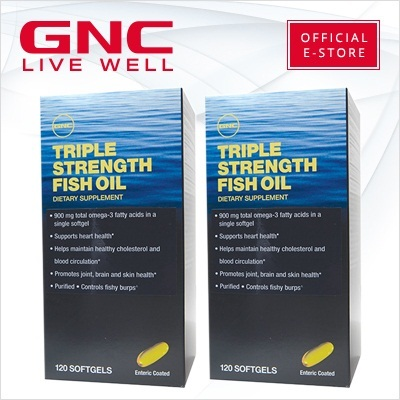 Qoo10 gnc triple strength fish oil 120 softgels buy 1 for Oily fish list