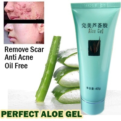 harga Perfect Aloe Gel Moisturizing Oil-Free Anti-Acne Remove Scar Skin Care40Gr Qoo10.co.id