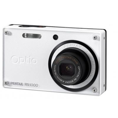 【送料無料】ペンタックス Optio RS1000 [パールホワイト] デジカメ デジタルカメラ 最新機種 ★超特価★
