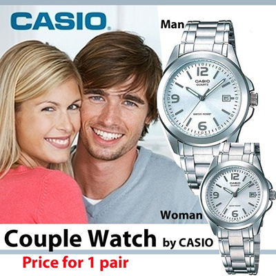 [casio][casio]new item   original casio couple collection 1 year guarantee   free shipcost jabotabek