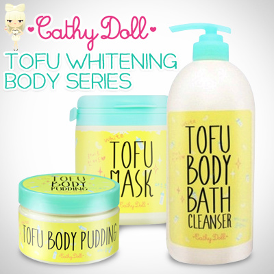 Cathy Doll Tofu Whitening Body Series