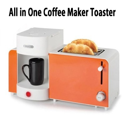 qoo10 princess coffee maker toaster all in one set for single orange home electronics. Black Bedroom Furniture Sets. Home Design Ideas