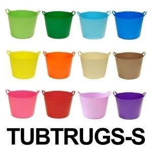 【バケツの王様】【セール価格】Tubtrugs タブトラッグス ゴムバケツ Sサイズ