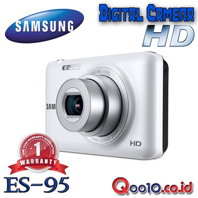SAMSUNG CAMERA DIGITAL ES-95 - 16MP - 5x Optical Zoom - 720p HD - Face Detection - Digital Image