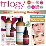 [Best Xmas Gift] Trilogy 100% Organic Rosehip oil/ cream/ mask  Gift set. Multiple awards winner! Achieve baby skin without makeup. Great for travel/gift bag. nt loreal etc
