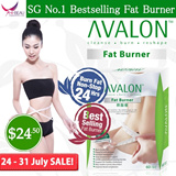 [LIMITED SALE] SG #1 Best Selling AVALON™ Fat Burner ★ No Diuretic / Caffeine / Laxative / Appetite Suppressant ★ Safe Slimming ★ Weight Loss