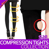 ★Slim your Legs★/ Compression Slimming Tights/S~XL/Foot/Ring/Ankle Type/480D/680D/980D Slimming leggings/High Waist