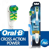 [Oral-B][Genuine]CrossAction Power Antimicrobial Toothbrush / clean /tooth/anti/oral b/oral b electric toothbrush