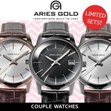 [Valentines Day] Couple Watches from ARIES GOLD! Limited sets available! 3 Colours! Trusted Retailer!