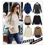 2014 new women winter sweater / sweaters / coat / jumper /SweaterLong/knit sweater/disney sweater/sweater and jackets