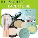 [The Face shop]Face It Line/Powder Pact/Concealer/Oil Cut Powder Pact/Oil CUT Pore Balm