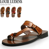 [LOUIE LUDENS][MADE IN KOREA]leather/0207/flip flops/menflip flops/women flip flops/Summer shoes/Vacation shoes/gobiz-006/gobiz