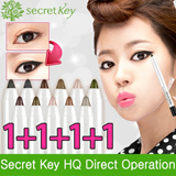 【Secret Key HQ Direct Operation】Twinkle Gel Pencil Liner_1.2g(4pcs)