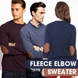 Unisex Sweater Fleece Elbow_9Colors_High Quality and Trendy_Sweater/Jacket/Cardigan/Hoodie