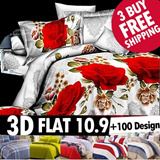 NewArrival for CNY! Warehouse 50% sale! 4 SET High Quality Bedsheet Set - Includes Quilt Cover + Bedsheet Cover + Pillow Case /Bed sheet/hello kitty