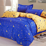 4 SET High Quality Bedsheet Set - Includes Quilt Cover + Bedsheet Cover + Pillow Case