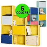 ★New Arrivals★ Color Box 1~4Tier furniture/storage box/bookshelves/bookcase/bookshelf/study room/diy