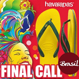 Havaianas Brasil flip flops 100% Authentic Free Shipping direct from KOREA! christmas gift