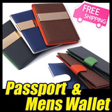 [New arrivals Deal]★Money Clip Wallet 2014 Style Leather wallet /Passport holder/ Card Holder/Coin wallet