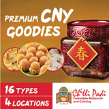[CHILLI PADI CNY SPECIAL] Premium Award-Winning Hand-made CNY Goodies by Chilli Padi. 16 Varieties. Exquisite Packaging Perfect for Gifts. 4 Convenient Pickup Locations. Happy Chinese New Year.
