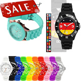 Silicon Kids Sports Fashion Wrists UNISEX Mens Women Digital Analog WATCHES Wholesale price!